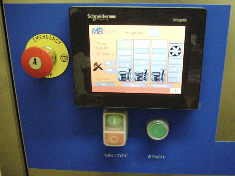 N25E et son IHM tactile simple de lecture et d'utilisation